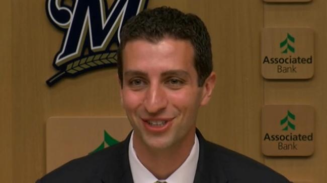 Breaking News:  the Brewers Hire A New GM.
