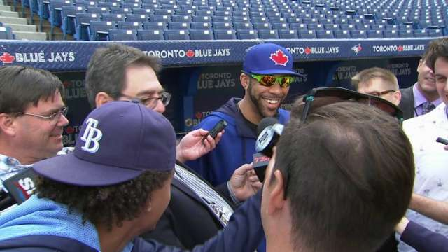 Chris Archer interviewed David Price about facing ChrisArcher