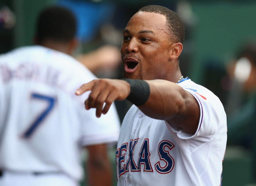 Adrian Beltre listed as day to day.  May miss gamethree.