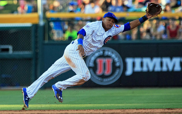 Addison Russell out for NLCS with hamstringstrain