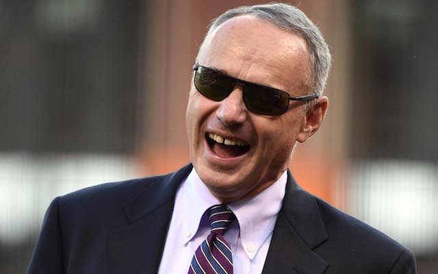 Manfred admits it's all about the money