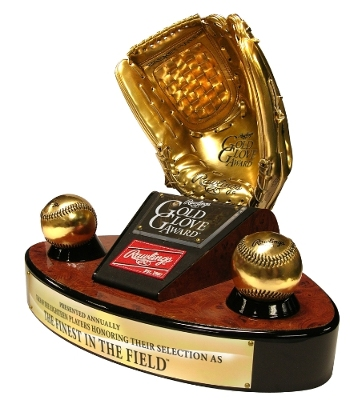 Gold Glove Winners Announced Last Night