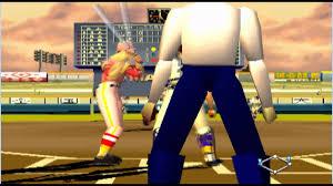 Some random Baseball videogame