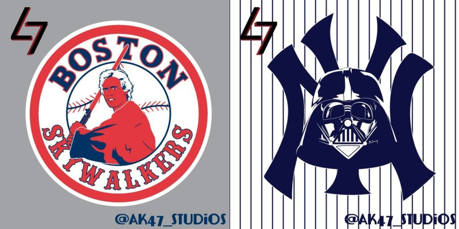 The Starwarzation of MLB Logos
