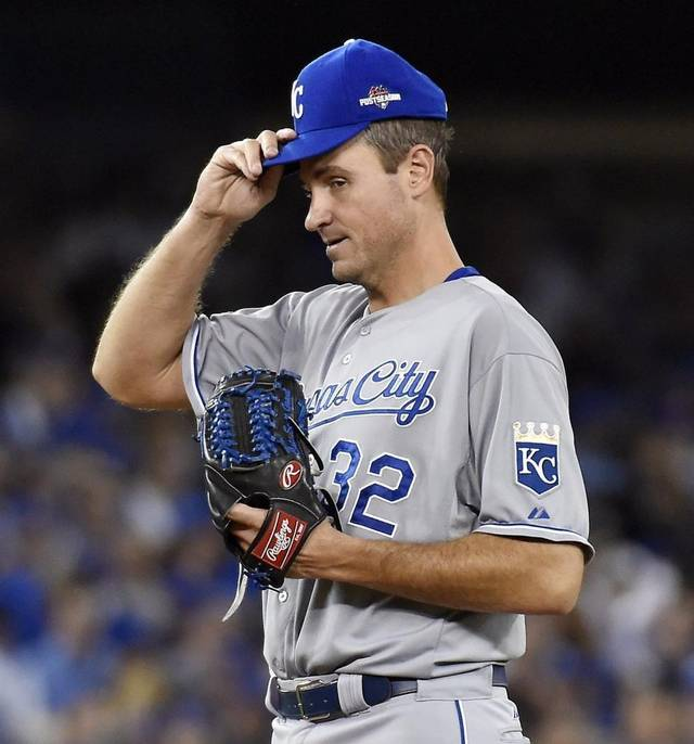 Royals Resign Chris Young