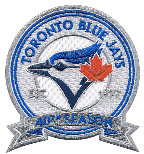 jays 40th Anniversary logo