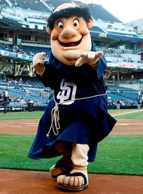 The Swinging Friar - Padres