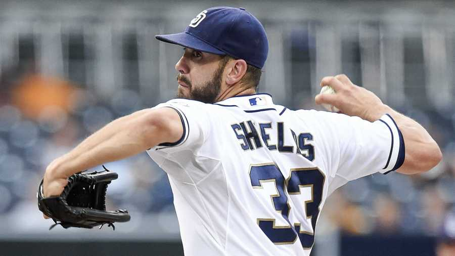 James Shields Traded To White Sox