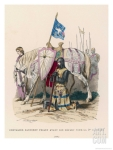 philippoteaux-french-chevalier-banneret-horseman-carrying-a-banner-prays-before-leaving-for-the-second-crusade_i-g-17-1740-kjj3d00z
