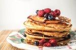 polenta-berry-pancake
