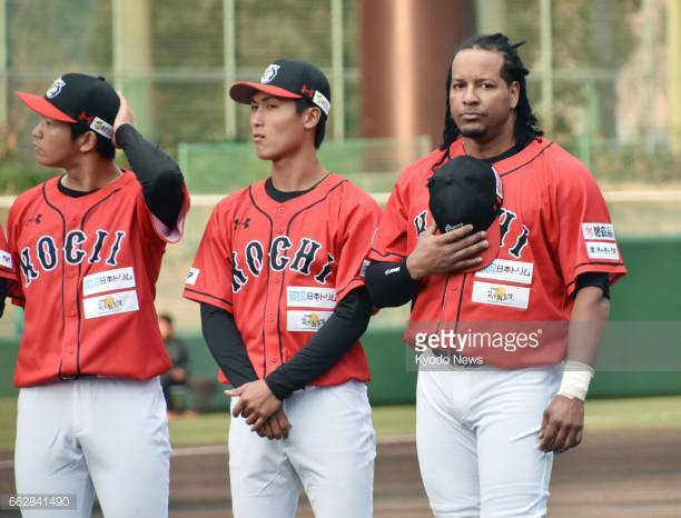 Manny Ramirez hits his first homerun in Japan