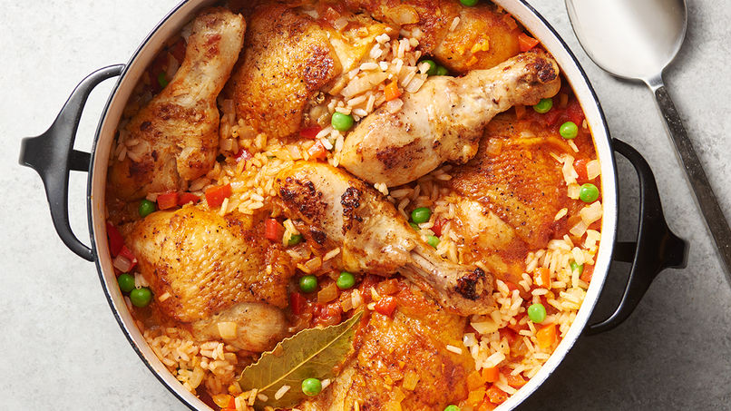 Cooking for Lockdown II: Francisco Cervelli's Arroz con Pollo, with Old Gator's Merry Mods