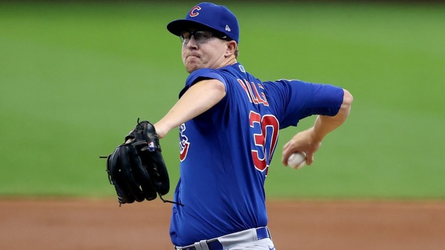 Cubs' Alec Mills No-Hits Brewers